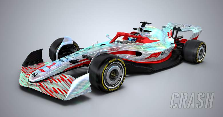 F1 unveils full-scale 2022 car for biggest ever rules overhaul