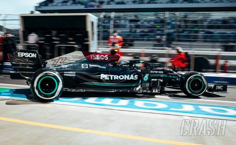 Bottas leads Hamilton in opening Russian GP practice