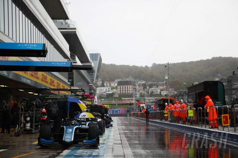 First F2 sprint race postponed in Sochi due to torrential rain