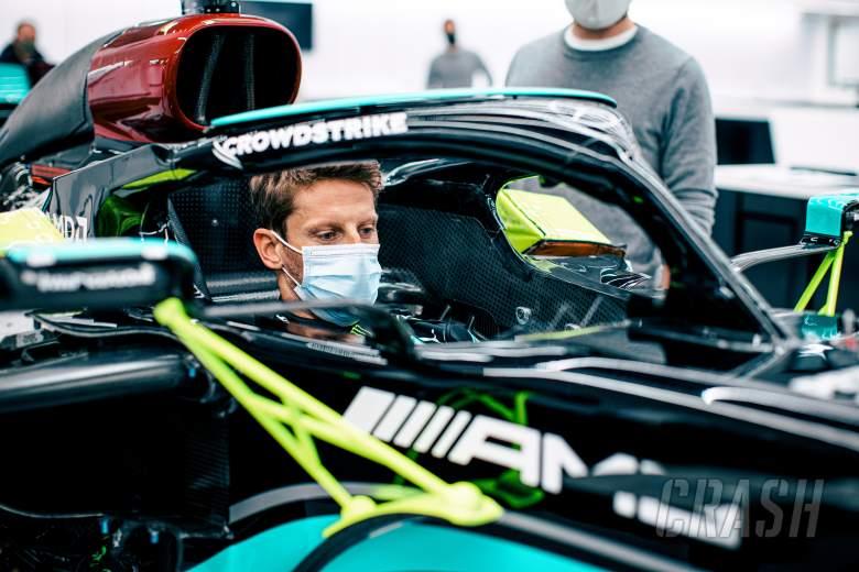 Romain Grosjean Lakoni Tes dengan Mercedes di F1 GP Prancis