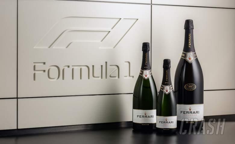Sparkling wine returns to the podium for 2021 F1 season
