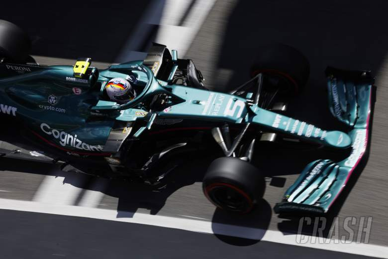 Sebastian Vettel Mendapat Upgrade dari Aston Martin di Spanyol