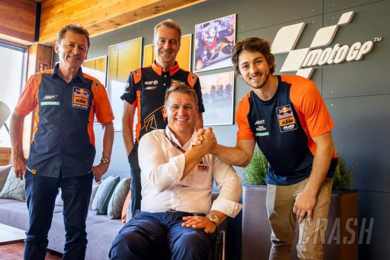 Remy Gardner joins Tech 3 KTM for 2022 MotoGP season