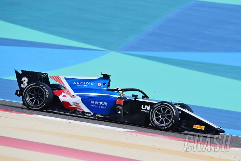 Zhou takes first F2 pole position of 2021 but is under investigation