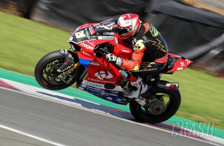 Christian Iddon - VisionTrack Ducati [credit: Ian Hopgood]