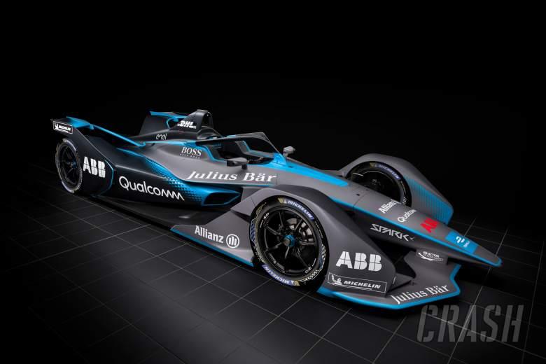 Formula E unveils Season 5 car at Geneva Motor Show