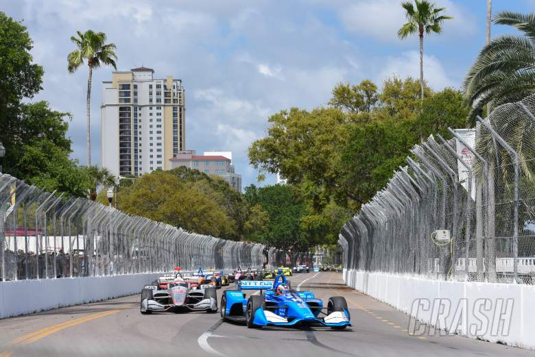 Rosenqvist soldiers to fourth in solid IndyCar debut