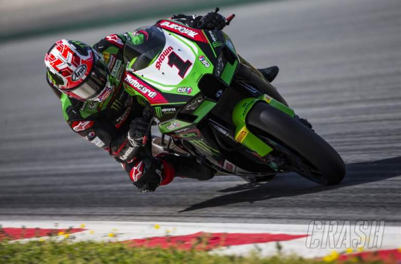'Lap-by-lap', rhythm is 'getting better' - Jonathan Rea