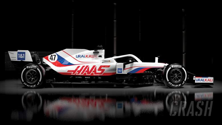 Haas reveals revised livery for VF-21 F1 car and new title sponsor for 2021