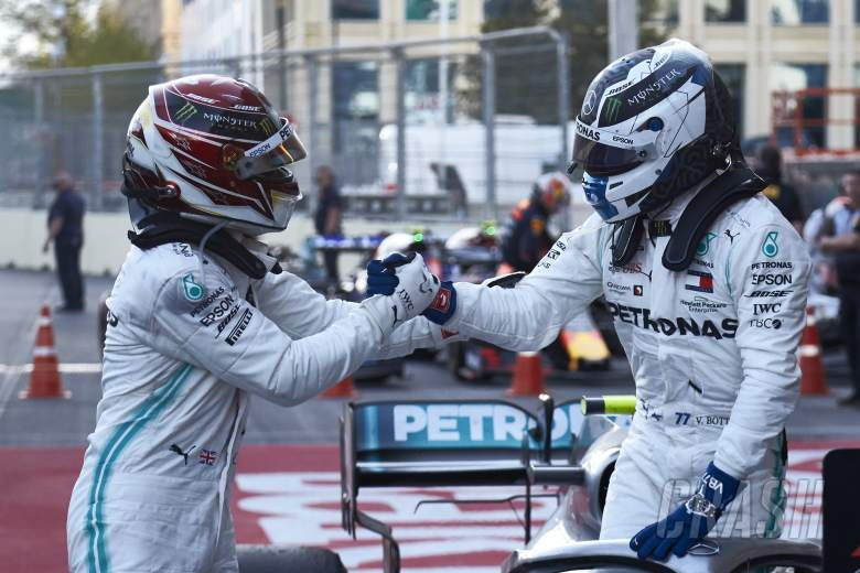 Hamilton: 'Far too early' to say Bottas is only F1 title rival