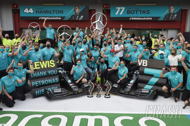 """Why Hamilton finds winning F1 teams' title """"almost more exciting"""" than drivers'"""