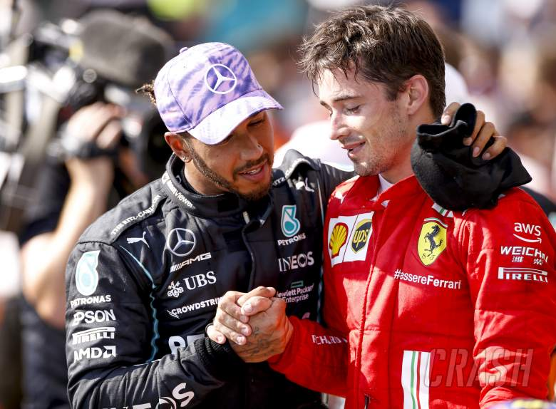 Hamilton Sebut Leclerc Jadi Contoh Bagaimana Seharusnya Bertarung di Copse
