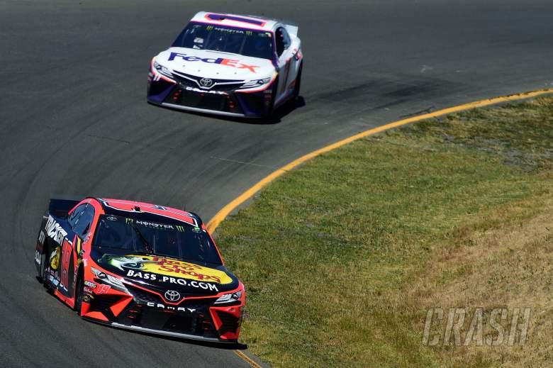 Martin Truex, Jr fends off teammate Kyle Busch for Sonoma race win