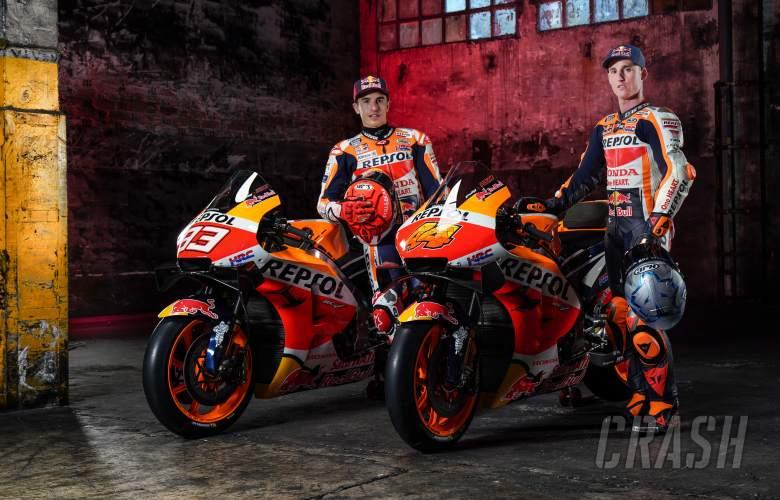 'I'll miss Qatar test' - Marc Marquez, Espargaro present 2021 Repsol Hondas