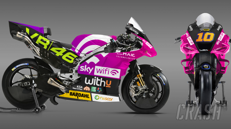 Special home livery for Luca Marini at Misano MotoGP