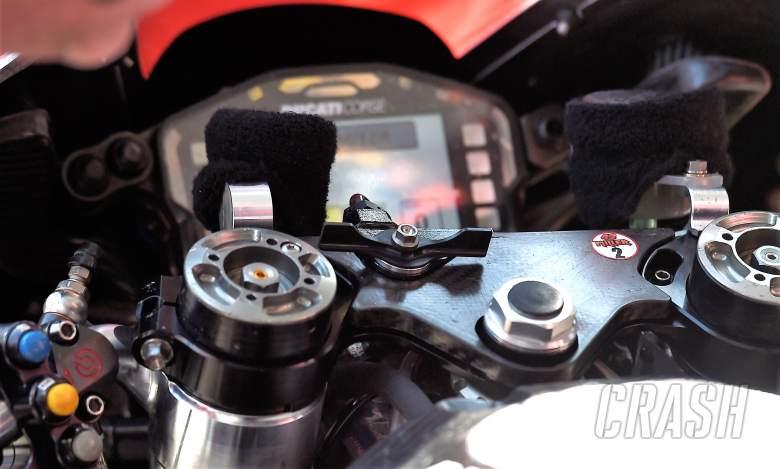Ducati holeshot device caught on camera - Updated