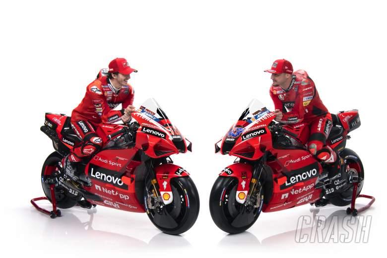 TAMPILAN PERTAMA: Ducati meluncurkan livery 2021 untuk Jack Miller, Francesco Bagnaia