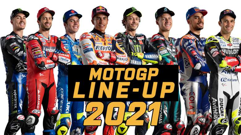 The 2021 MotoGP rider line-up is almost complete... so who goes where?