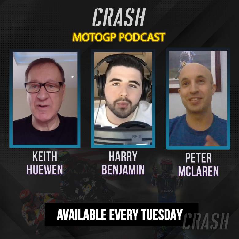Crash.net MotoGP podcast with Keith Huewen: Vinales, Aragon, SBK Track Limits