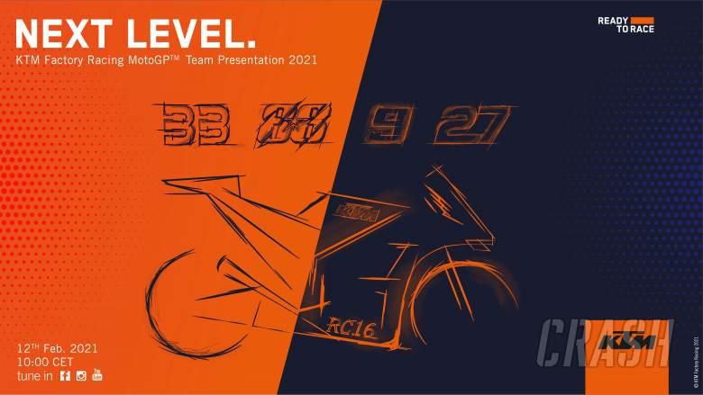 KTM, Tech3 to reveal 'next level' 2021 MotoGP colours