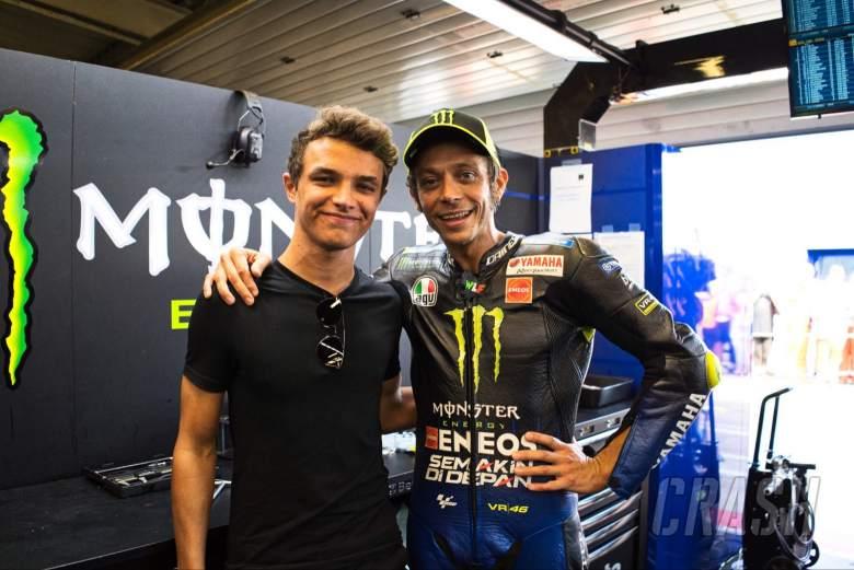 Norris: Rossi menginspirasi saya untuk menjadi diri saya hari ini