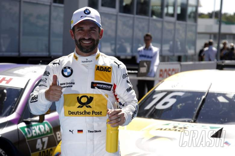 Glock takes hard fought race two victory