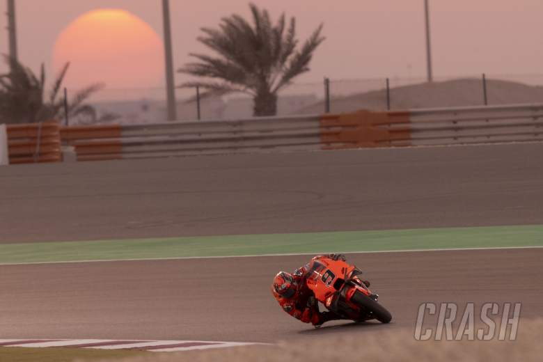 Qatar MotoGP test: Petrucci 'happy', but work to do after 21st place finish
