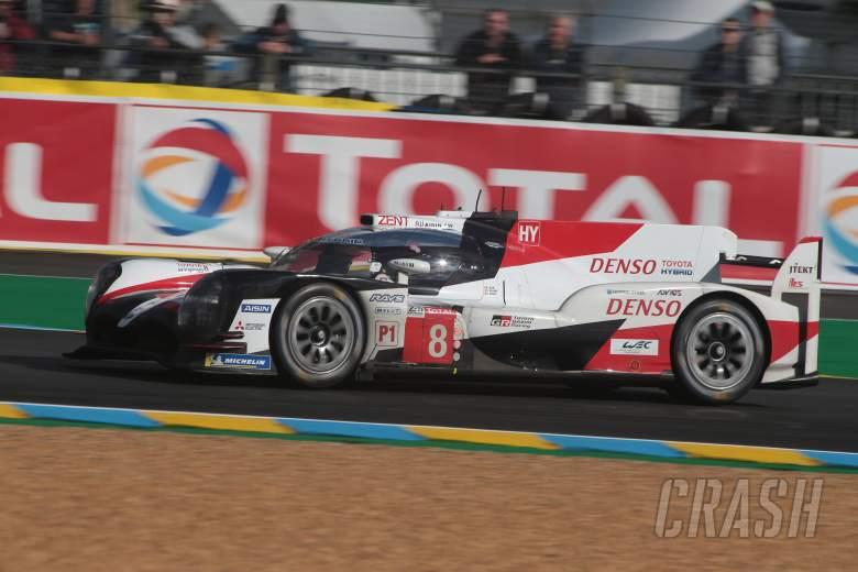 Toyota Gazoo Racing - #8 Toyota TS050 Hybrid - LMP1 - Sébastien Buemi(CHE), Kazuki Nakajima(JPN), Fernando Alonso(ESP)