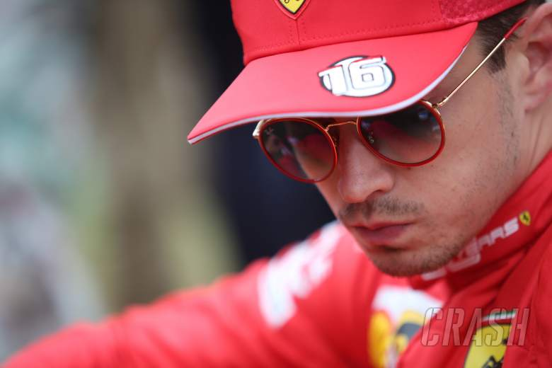 "Leclerc had ""no thoughts"" about quitting after Bianchi's crash"