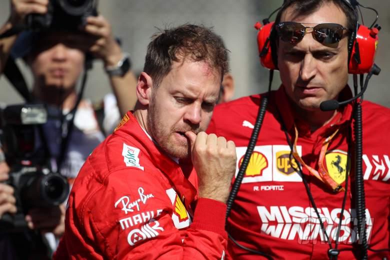 Vettel downplays Ferrari 'favourites' tag in Mexico