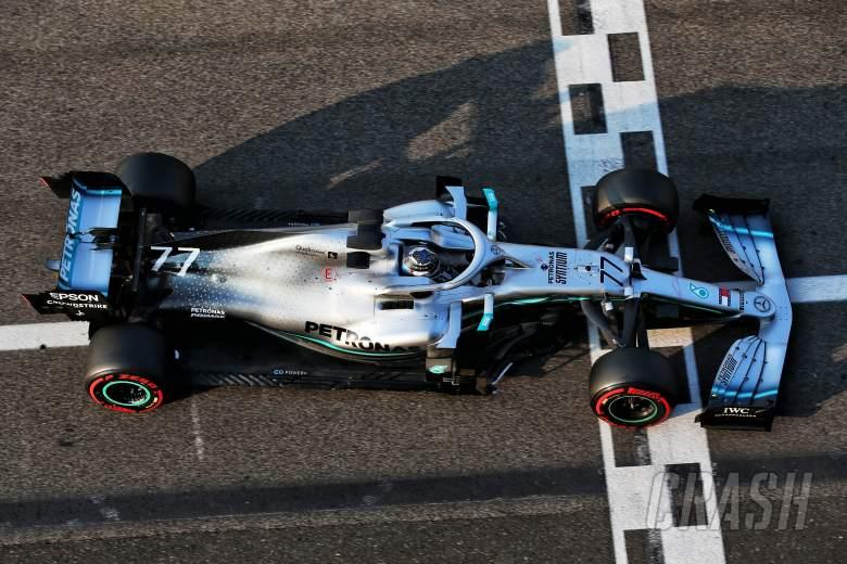 Bottas tops opening day of Abu Dhabi post-season test