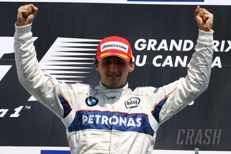 Remembering Kubica's F1 win 10 years onin Canada