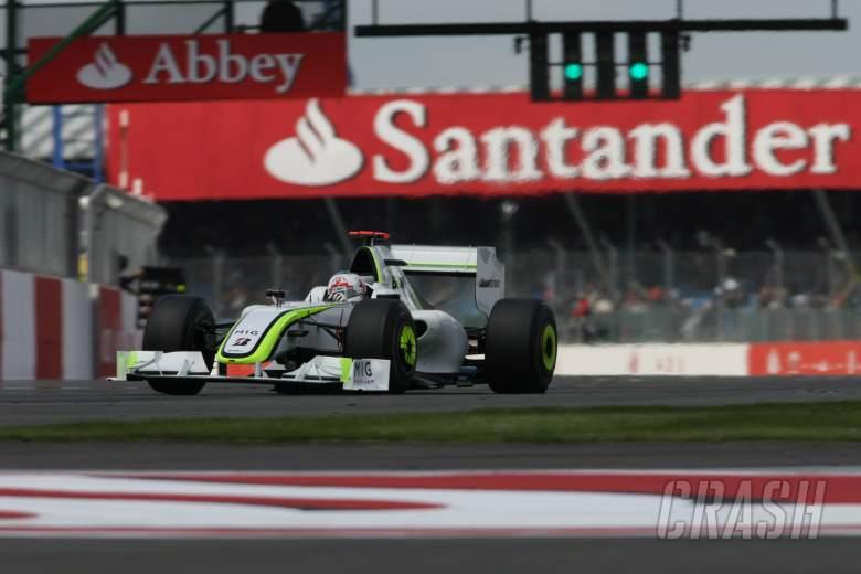 Button to drive title-winning Brawn F1 car at Silverstone