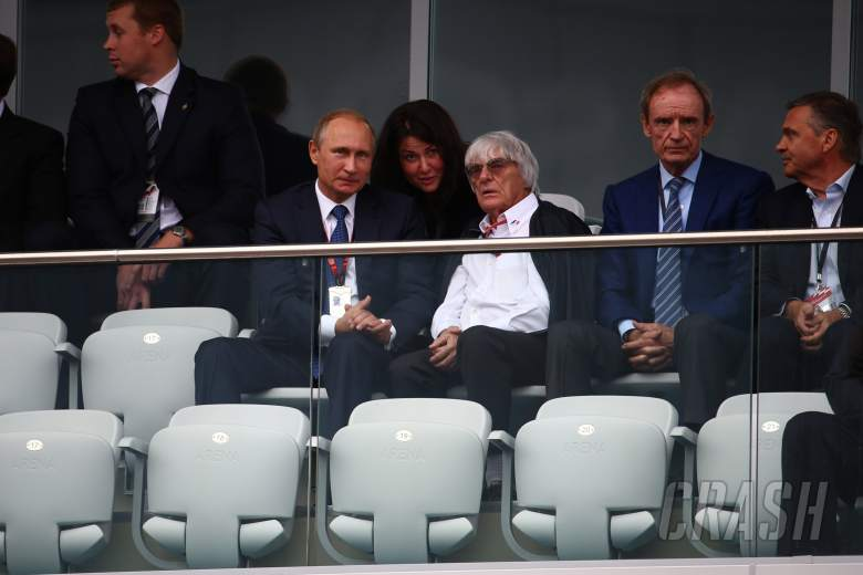 "F1 Gossip: Ecclestone would 'take a bullet' for ""good guy"" Putin"