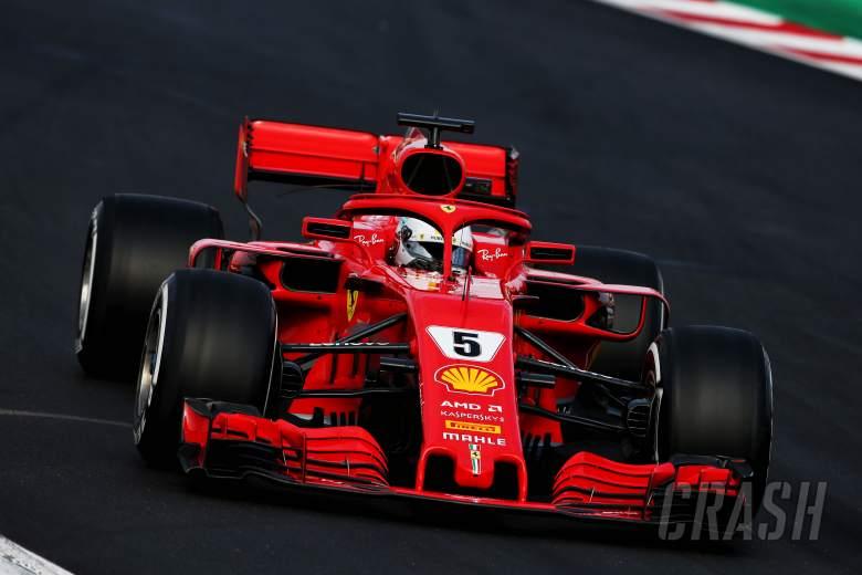 Vettel edges Bottas to lead second F1 test day