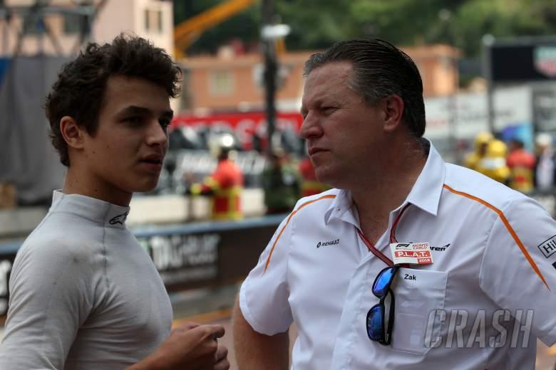 Brown: McLaren must manage Norris expectations in 'cruel F1'