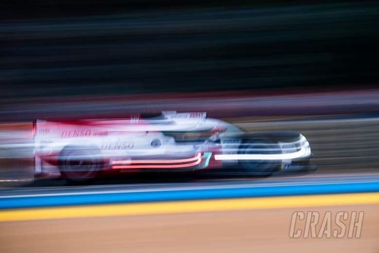 Mike Conway (GBR) / Kamui Kobayashi (JPN) / Jose Maria Lopez (ARG) #07 Toyota Gazoo Racing Toyota TS050 Hybrid. 14.06.2018