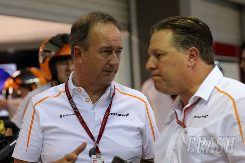 McLaren 'not done' with F1 team restructure