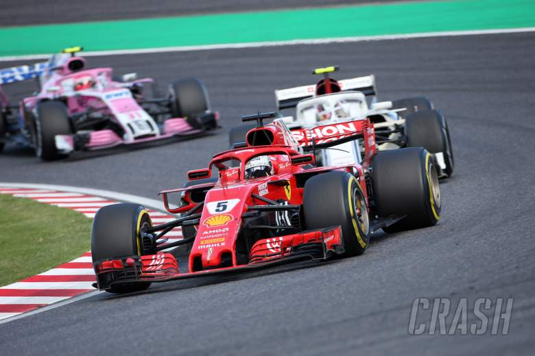 Vettel: Ferrari 'still too far away' from Mercedes in 2018