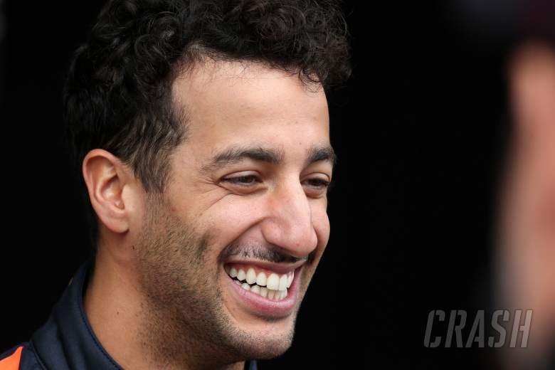 Ricciardo makes first Renault F1 appearance