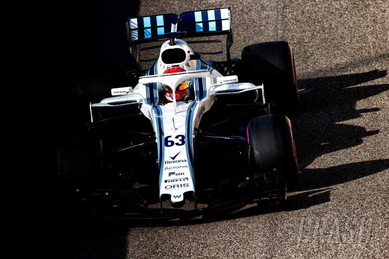Russell pleased with 'very positive' first Williams F1 test