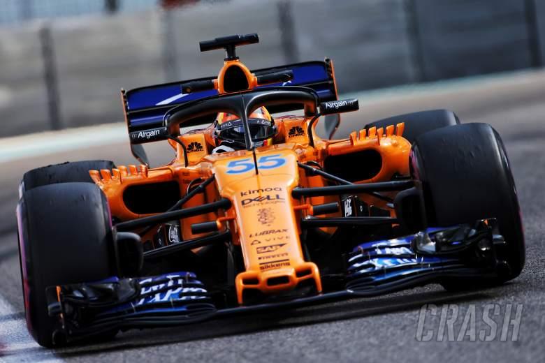Sainz: McLaren F1 debut outing a dream come true
