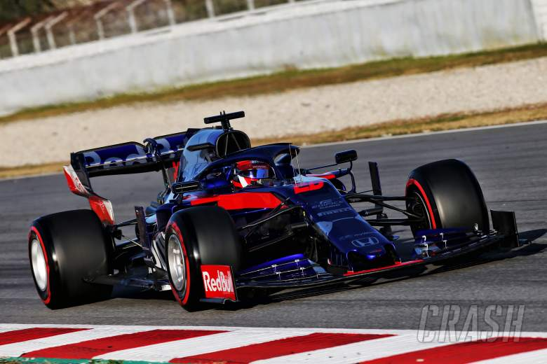 """Toro Rosso's Kvyat not """"balls out"""" on fastest lap of F1 test"""