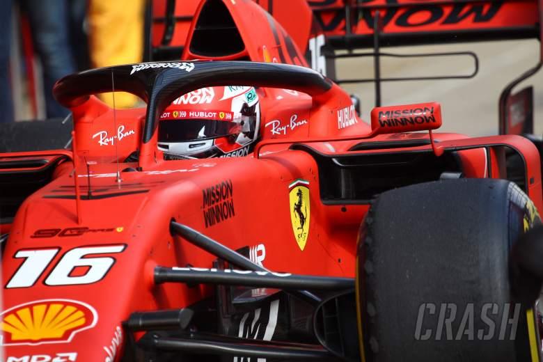 Leclerc had to 'put emotion aside' on Ferrari 2019 F1 debut
