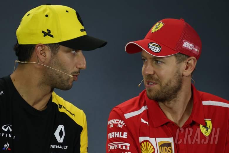 Ricciardo mendukung Vettel: 'Dia satu balapan dari membalikkannya'