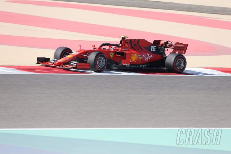 Leclerc di puncak di FP1 saat kecepatan Ferrari kembali