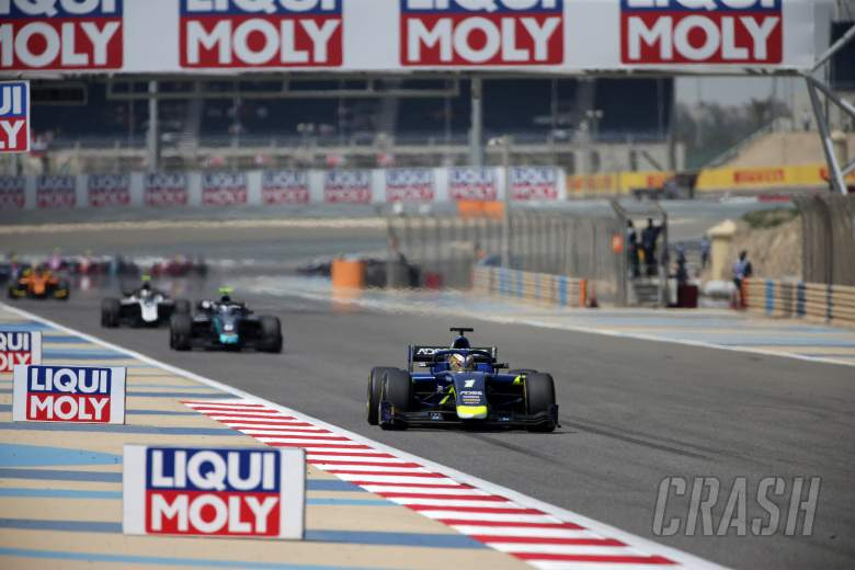 Formula 2 Bahrain - Sprint Race Results