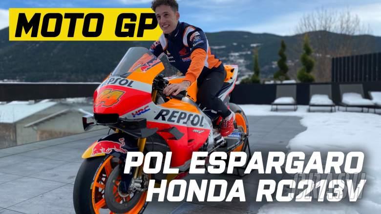 'I'm about to cry!' - Pol Espargaro gets Repsol Honda surprise