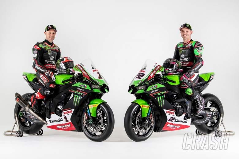 FIRST LOOK: Jonathan Rea and Alex Lowes present 2021 Kawasaki