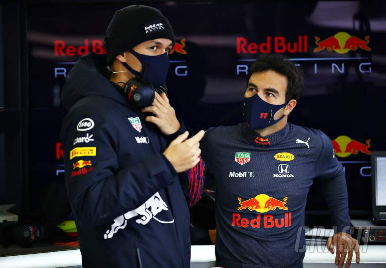 Perez praises Albon's 'openness' in helping him achieve maiden Red Bull F1 win
